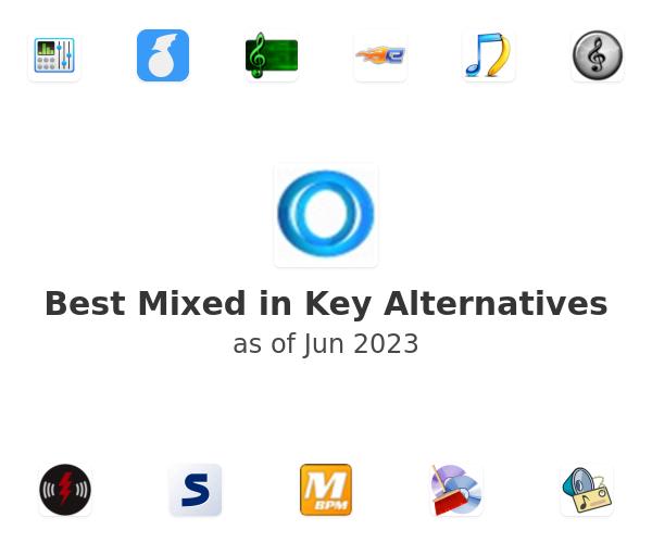 Best Mixed in Key Alternatives