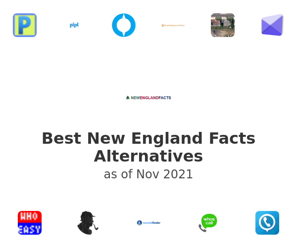 Best New England Facts Alternatives