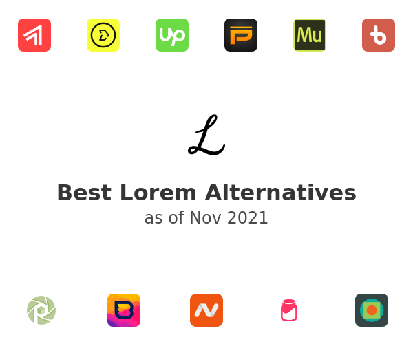 Best Lorem Alternatives