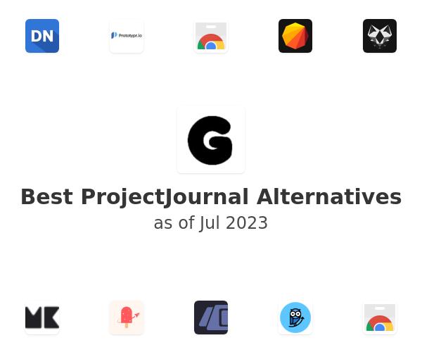 Best ProjectJournal Alternatives
