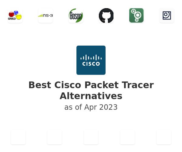 Best Cisco Packet Tracer Alternatives