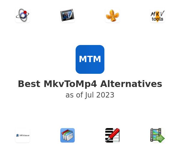 Best MkvToMp4 Alternatives