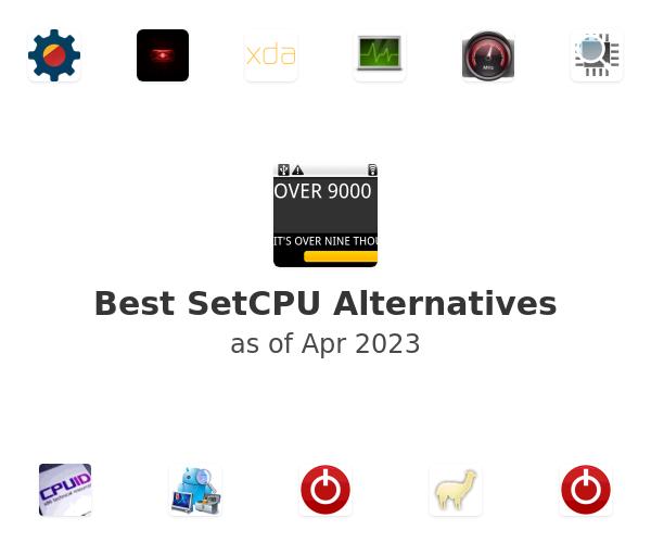 Best SetCPU Alternatives