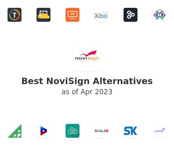 Best NoviSign Digital Signage Alternatives
