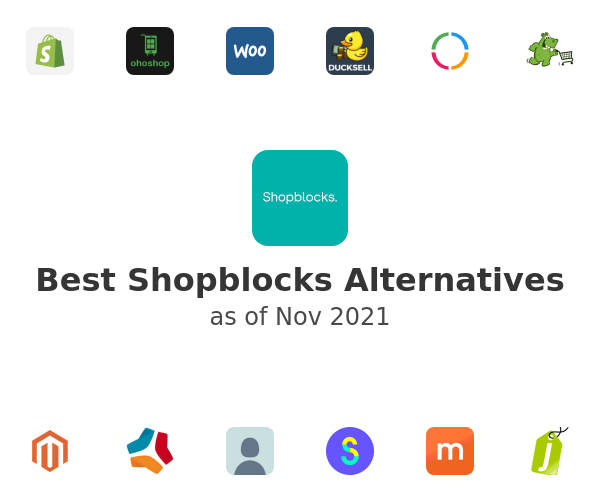 Best Shopblocks Alternatives