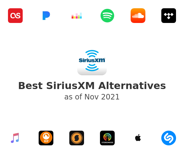 Best SiriusXM Alternatives