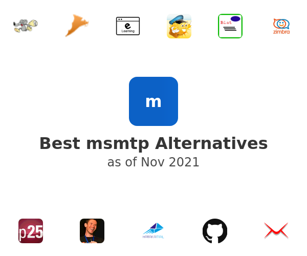 Best msmtp Alternatives