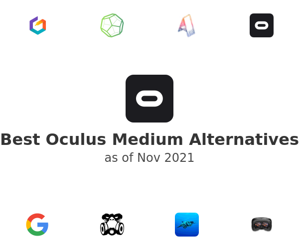 Best Oculus Medium Alternatives