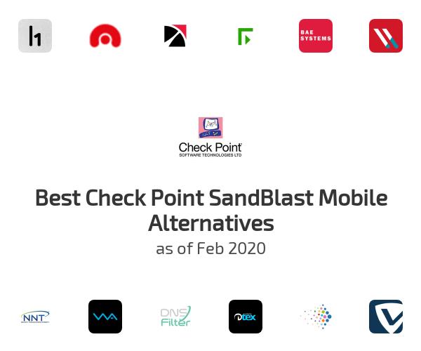 Best Check Point SandBlast Mobile Alternatives