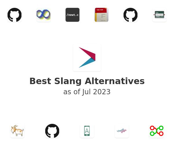 Best Slang Alternatives