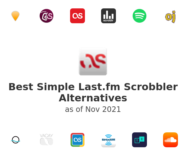 Best Simple Last.fm Scrobbler Alternatives