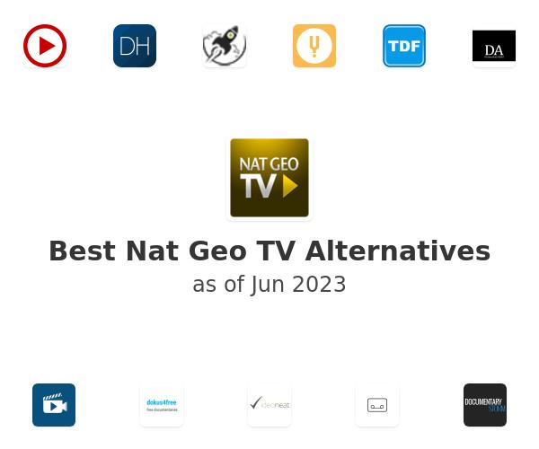 Best Nat Geo TV Alternatives