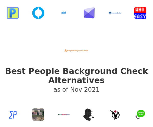Best People Background Check Alternatives