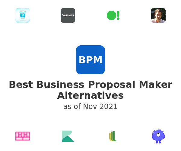 Best Business Proposal Maker Alternatives