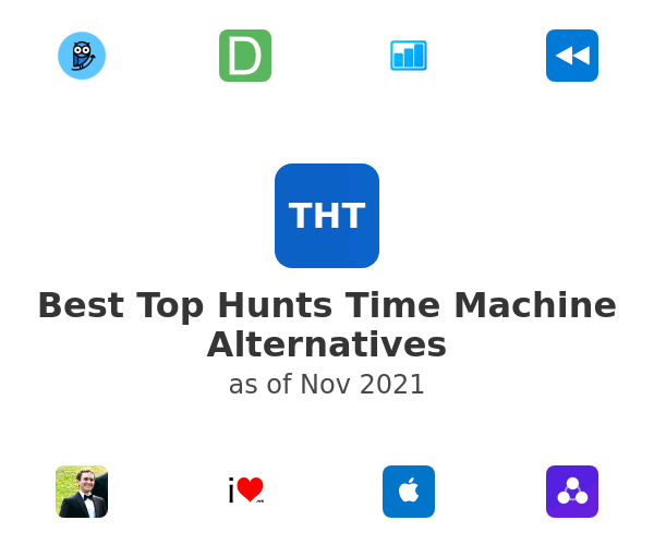 Best Top Hunts Time Machine Alternatives