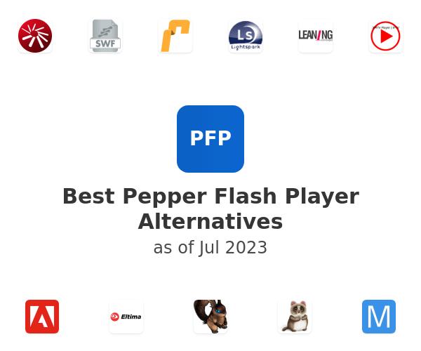 Best Pepper Flash Player Alternatives