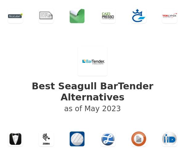 Best Seagull BarTender Alternatives