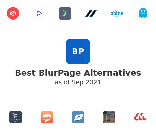 Best BlurPage Alternatives