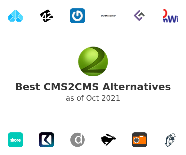 Best CMS2CMS Alternatives