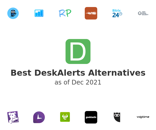 Best DeskAlerts Alternatives