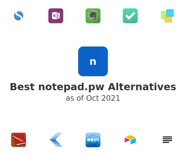Best notepad.pw Alternatives
