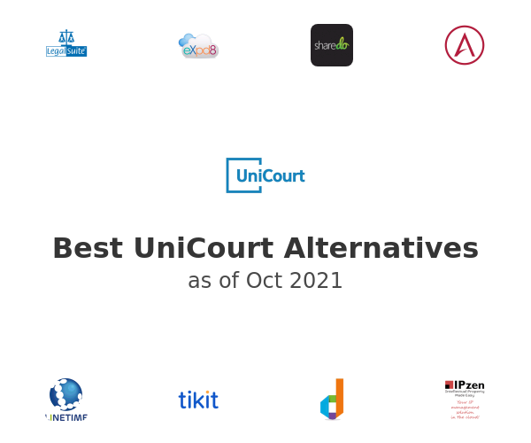 Best UniCourt Alternatives