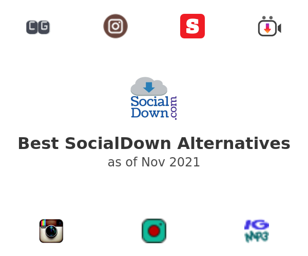 Best SocialDown Alternatives