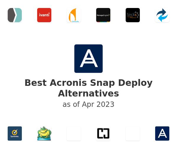 Deploy acronis snap