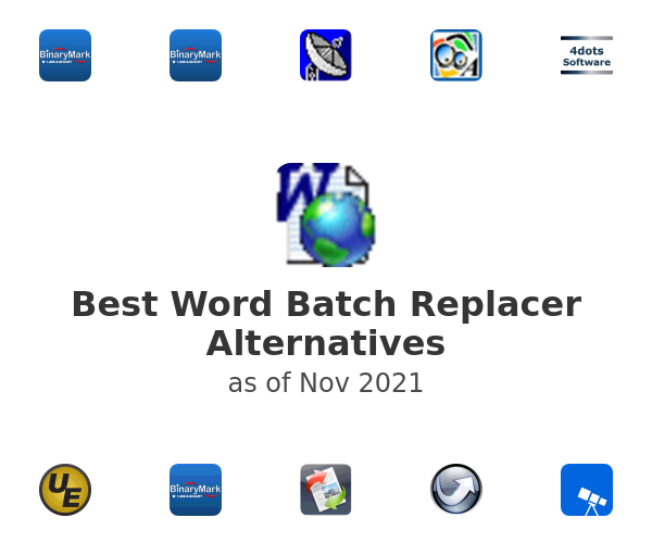 Best Word Batch Replacer Alternatives