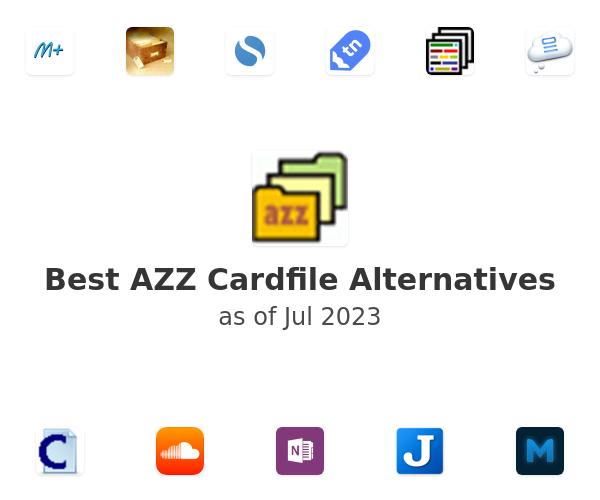 Best AZZ Cardfile Alternatives