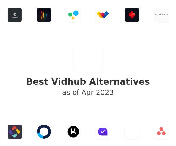 Best Vidhub Alternatives