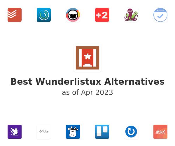 Best Wunderlistux Alternatives