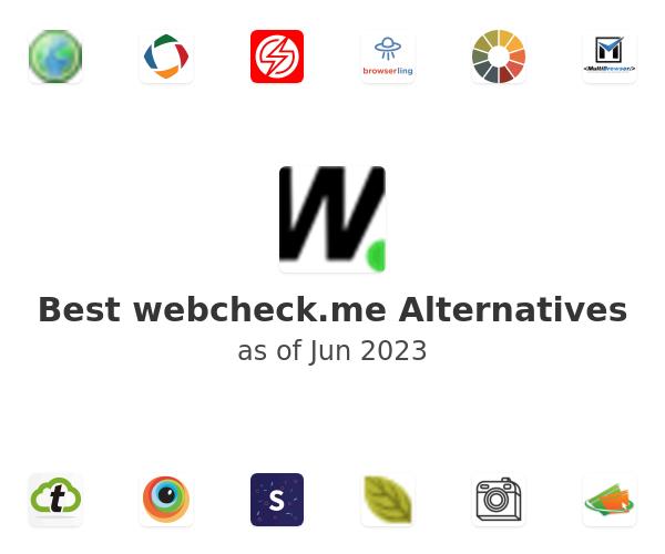 Best webcheck.me Alternatives