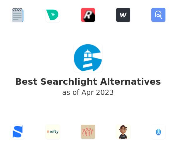 Best Searchlight Alternatives