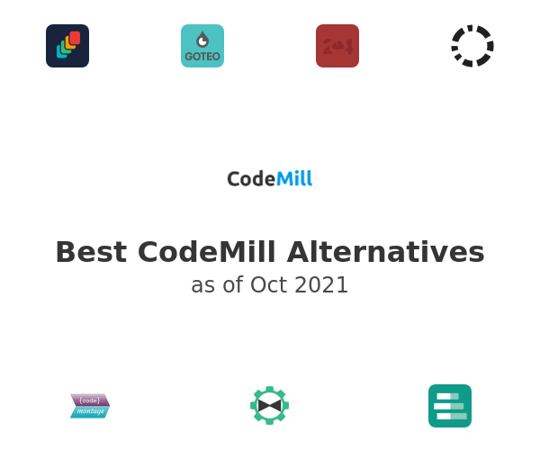 Best CodeMill Alternatives