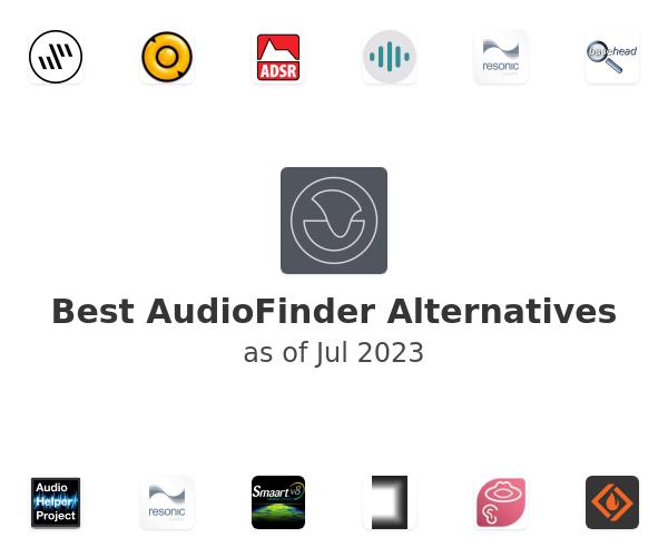 Best AudioFinder Alternatives