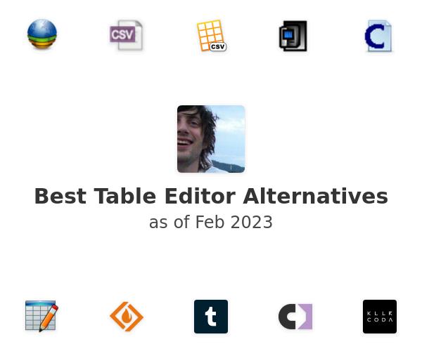 Best Table Editor Alternatives