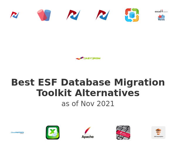 Best ESF Database Migration Toolkit Alternatives