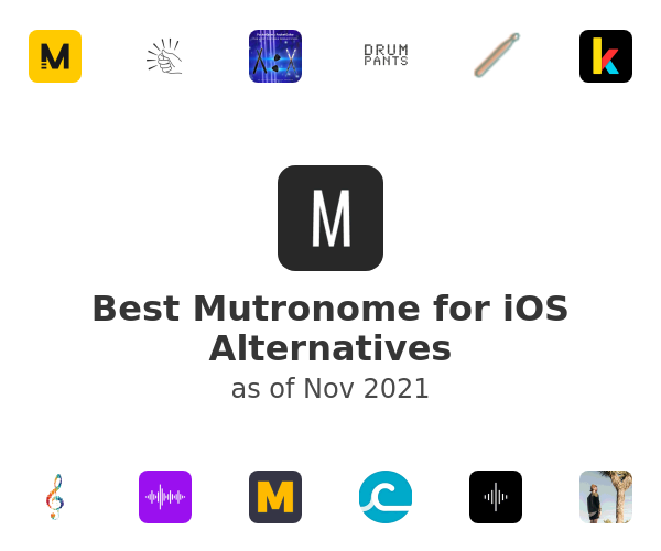 Best Mutronome for iOS Alternatives