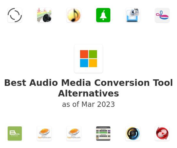 Best Audio Media Conversion Tool Alternatives