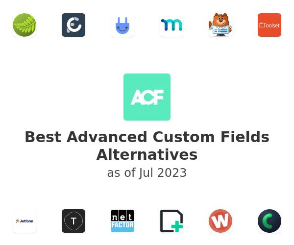 Best Advanced Custom Fields Alternatives