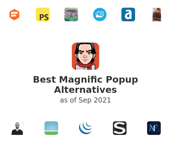 Best Magnific Popup Alternatives