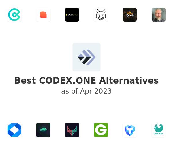Best CODEX.ONE Alternatives