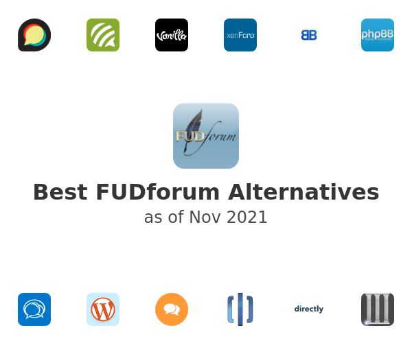 Best FUDforum Alternatives
