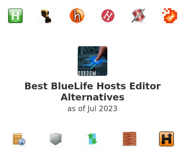 Best BlueLife Hosts Editor Alternatives