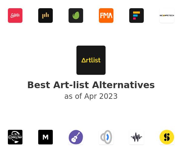Best Art-list Alternatives