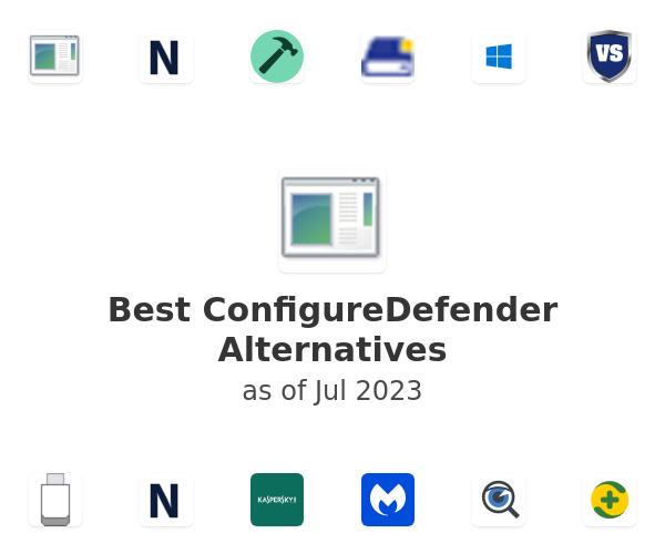 Best ConfigureDefender Alternatives