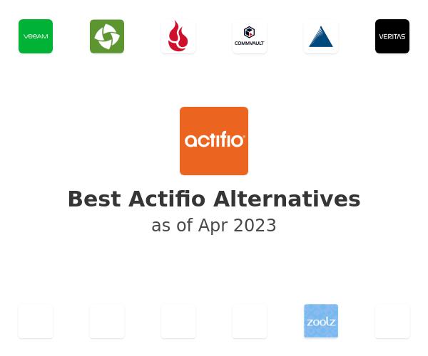 Best Actifio Alternatives