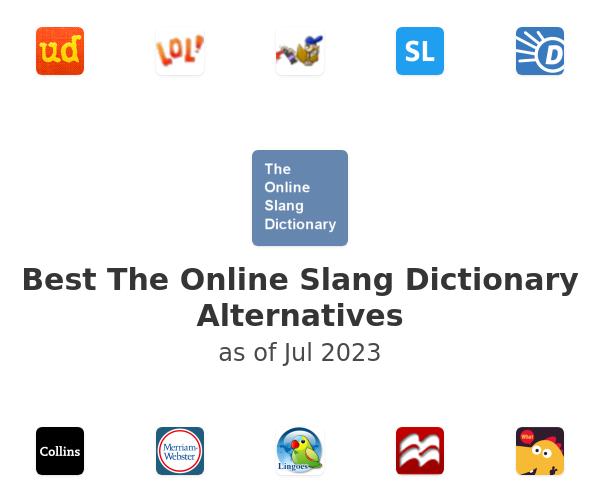 Best The Online Slang Dictionary Alternatives