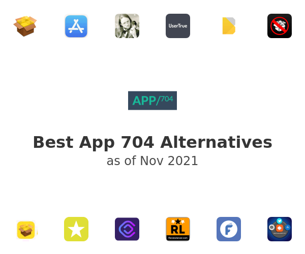 Best App 704 Alternatives